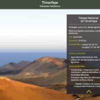 HTML5: Timanfaya, volcanes históricos