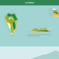 HTML5: Pisos de vegetación de La Palma