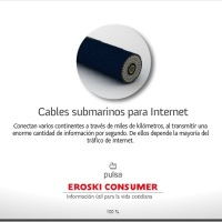 Cables submarinos para Internet