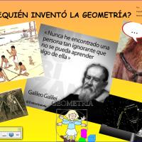 ¿quién inventó la geometría?