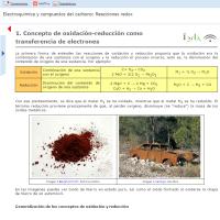 Electroquímica y compuestos del carbono: Reacciones redox