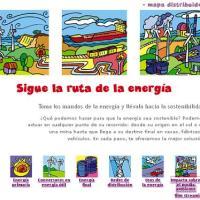 La ruta de la energía