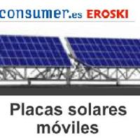 Placas solares móviles