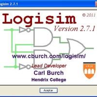 Simulador de puertas lógicas digitales Logisim