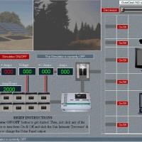 Simulador de central solar