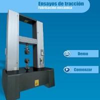 Simulador de ensayos de tracción