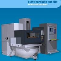 Simulador de ensayos de electroerosión por hilo