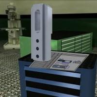 Simulador de corte con fresadora