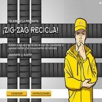Juego: Zig-zag, recicla
