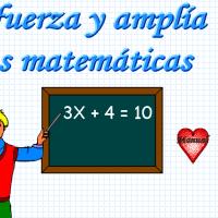 Refuerza y amplia tus matemáticas