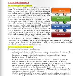 Sistemas operativos y almacenamiento de la información