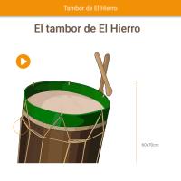 HTML5: Tambor de El Hierro
