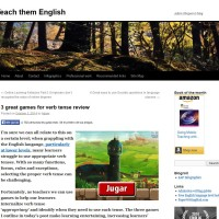 Games for tenses reviews
