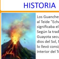 El Teide entre historia y leyenda