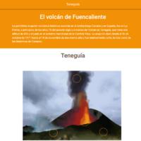 HTML5: Volcán de Teneguía