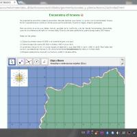 Encuentra el tesoro - localización cartográfica