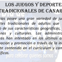 Los juegos y deportes tradicionales de Canarias