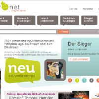 Vorleser.net Literatur hören