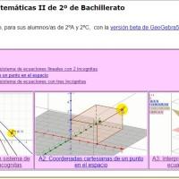 Videoclips para Matemáticas II