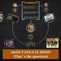 ¿Adán y Eva o el mono?