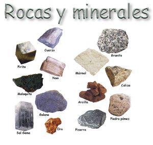 Resultado de imagen de MINERALES Y ROCAS