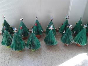 árbolitos de Navidad