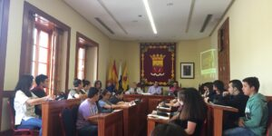 Durante el plenos municipal del Ayuntamiento de Arucas