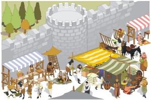 Un día en la Edad Media