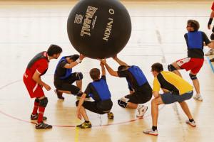 Kin-ball, la unión hace la fuerza