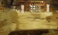 Grabando un documental sobre el aislamiento térmico de las viviendas del Museo y Parque Arqueológico Cueva Pintada de Gáldar