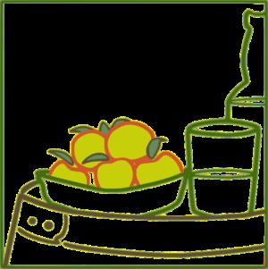 Elaboración de sidra con manzana reineta