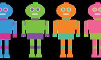 ¡Nos visitan los robots!