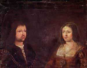 Colón relata su primer viaje a Indias a los Reyes Católicos