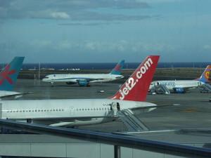 Tenerife-London: a return ticket