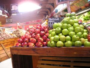 De compras en el supermercado