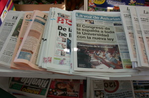El periódico de menor tirada del mundo