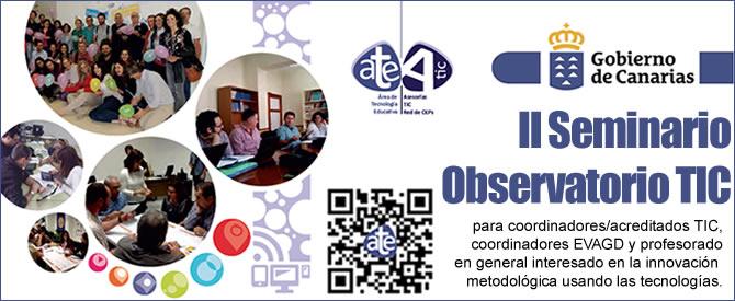 II Seminario Observatorio TIC 2016-2017