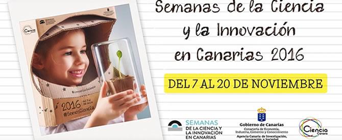 Semanas de la Ciencia Canarias 2016
