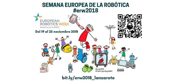 Semana Europea de la Robótica ERW 2018