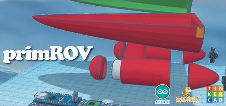 Convocatoria Proyecto PrimROV 2018: Mar, Ciencia y Robótica en Primaria