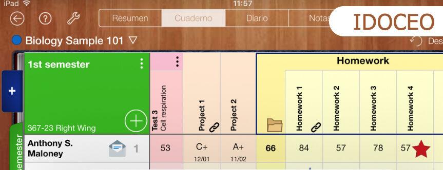 APU IDOCEO: aplicación para la gestión de aula