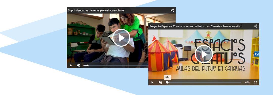 Una propuesta de aprendizaje inspiradora. Los Espacios Creativos de Canarias.