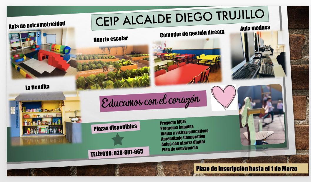CEIP Alcalde Diego Trujillo Rodríguez