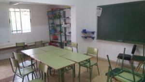 Aula de Apoyo Pedagógico y acogida temprana