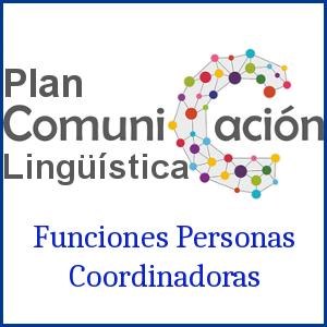 Imagen Funciones del Plan de Comunicación Lingüística