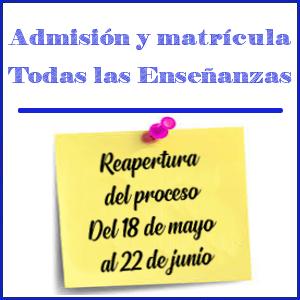 Imagen de admisión 2020 - 2021
