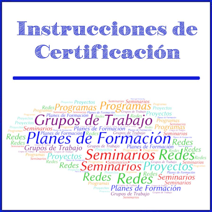 Imagen de Cabecera Instrucciones de Certificación
