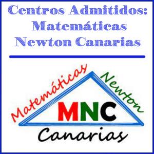 centros admitidos matemáticas newton canarias
