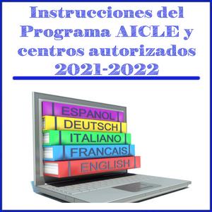 Instrucciones del Programa AICLE y centros autorizados