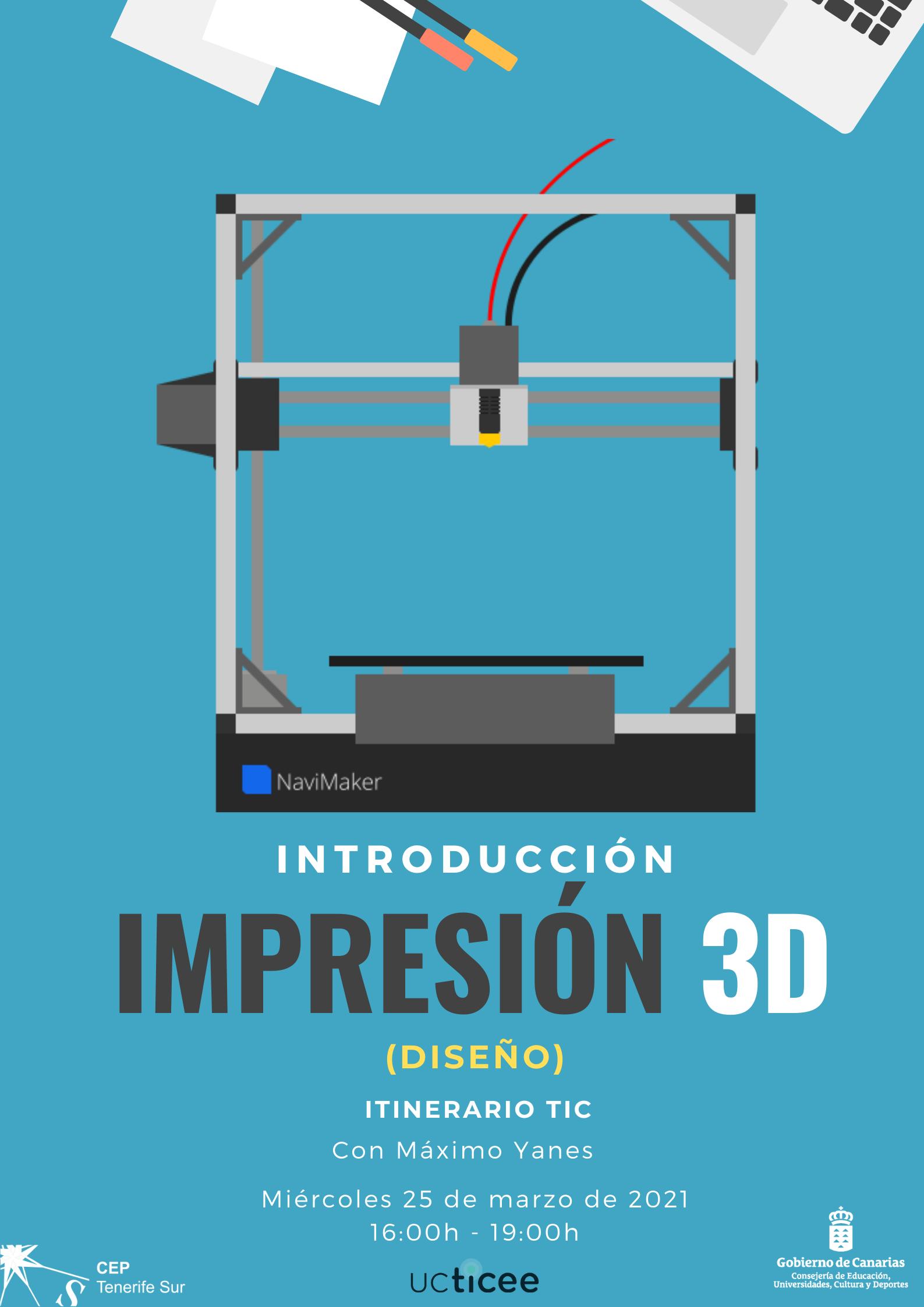APU: INTRODUCCIÓN A LA IMPRESIÓN 3D (diseño)